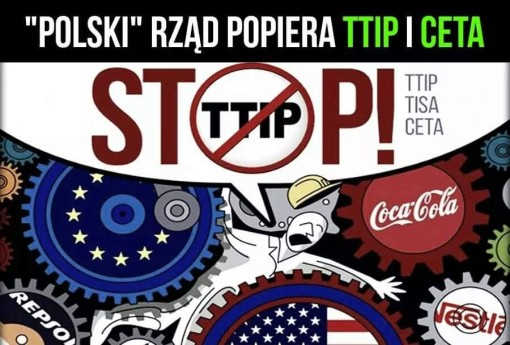 Mówimy STOP dla TTIP i CETA